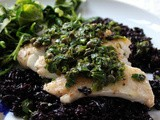 Halibut with French Herbs