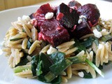 Mostly Plants in a Hurry: Orzotto Meets the Complete Beet