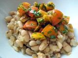 Mostly Plants in a Hurry: White Beans with Tomatoes and Cilantro