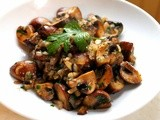 Mushrooms with Sherry and Thyme