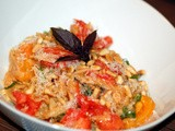 Orzotto with Ripe Tomatoes and Sweet Basil