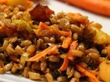 Smoked Bacon and Apple Farro