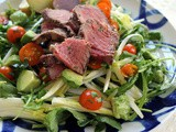 Steak Salad with Lime-Cilantro Vinaigrette