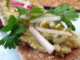White Bean and Chickpea Spread with Cumin and Cilantro