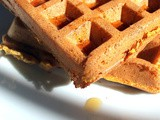 Whole Grain Pumpkin Waffles