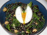 Wild Rice and Greens