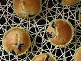 Blueberry Muffins ~ My Guest post for Sarani's Kitchen