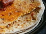 Paneer Stuffed Paratha | Pickled Paneer Paratha Recipe | Easy Lunch/ Dinner Indian Recipe