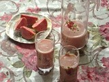 Pink Guava Lassi | Guava fruit drink | Summer Drinks