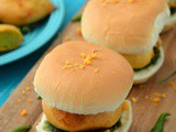 Vada Pav Recipe | Mumbai Style Vada Pav with Spicy Garlic Coconut Chutney