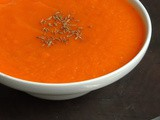 Carrot,Cumin and Ginger Detox Soup