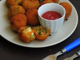 Cheese Stuffed Vegetable & Drumstick Leaves Balls