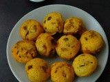 Dhingri Aloo Batata Vada/Mushroom Potato Fritter in Appe Pan