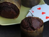 Double Chocolate Beets Muffins