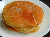 Eggless Coconut Pancakes