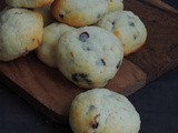 Eggless Orange, Chocolate Chips Cookies