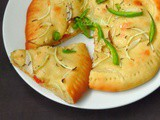 Onion & Bellpepper Cheese Flatbread