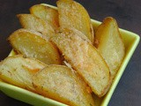 Potato Wedges with Cheese