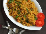 Pressure Cooker Yogurt Chicken Biriyani