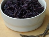 Purple Cabbage Thoran/Kerala Style Red Cabbage Stir Fry
