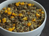 Quinoa and French Lentils Salad