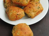Spicy Onion Buns with Coriander Leaves