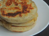 Tawa Whole Wheat Aloo Kulchas/Tawa Potato Kulchas