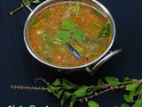 Tulasi Rasam/Holy Basil Leaves Herbal Soup/Herbal Rasam/Thulasi Rasam