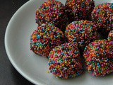 Vegan Dark Chocolate & Almonds Truffles