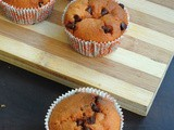 Vegan WholeWheat Chocolate Chips Muffins