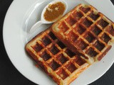 Vegetable Idly Waffle/Waffle with Idly Batter