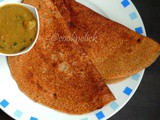Wheat Bread Dosa