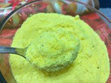 Home made Badam/Almond Milk Powder (with Turmeric)