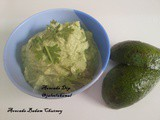 Avocado Almond Chutney