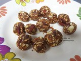 Cooking without Fire Dates and Goji berry Healthy Ball