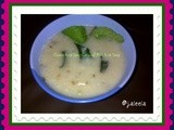 Cumin Coconut Milk Porridge /soup