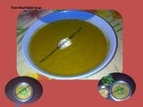 Ground Palak dhal/ Toor Dhal Palak  Soup/Palak Soup