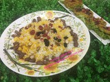 Iranian /Persian Jewelled Saffron rice