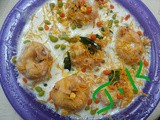 Kids Colourful Dahi Vada/ Thayir vadai