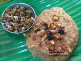 Mix Millet Sweet Pongal & Black Channa Dal Sundal
