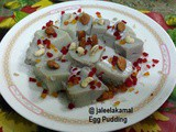 Muttai vatlappam - Egg Coconut Milk Pudding