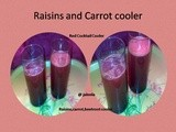 Raisins Carrot cooler/Rod Cocktail Cooler/Raisins,carrot,beetroot Cooler