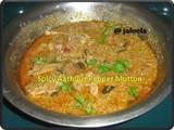 Spicy Aathuur Milaku Kari/Pepper Mutton