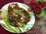 Steamed Dori Fish with jaggery and chilli Sauce