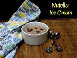 4 Ingredient Nutella Ice Cream