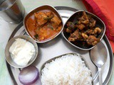 Andhra Style Chicken Gravy with Step By Step Pictures