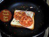 Cheese Tomato Open Toast