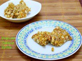 Chinese Peanut Sesame Ginger Brittle