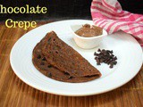 Chocolate Crepe | How to make Chocolate Crepe