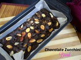 Chocolate Zucchini Bread | Eggless Chocolate Zucchini Bread